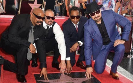 Image result for Latin hip-hop neighborhood Cypress Hill unveil 'walk of fame' celebrity