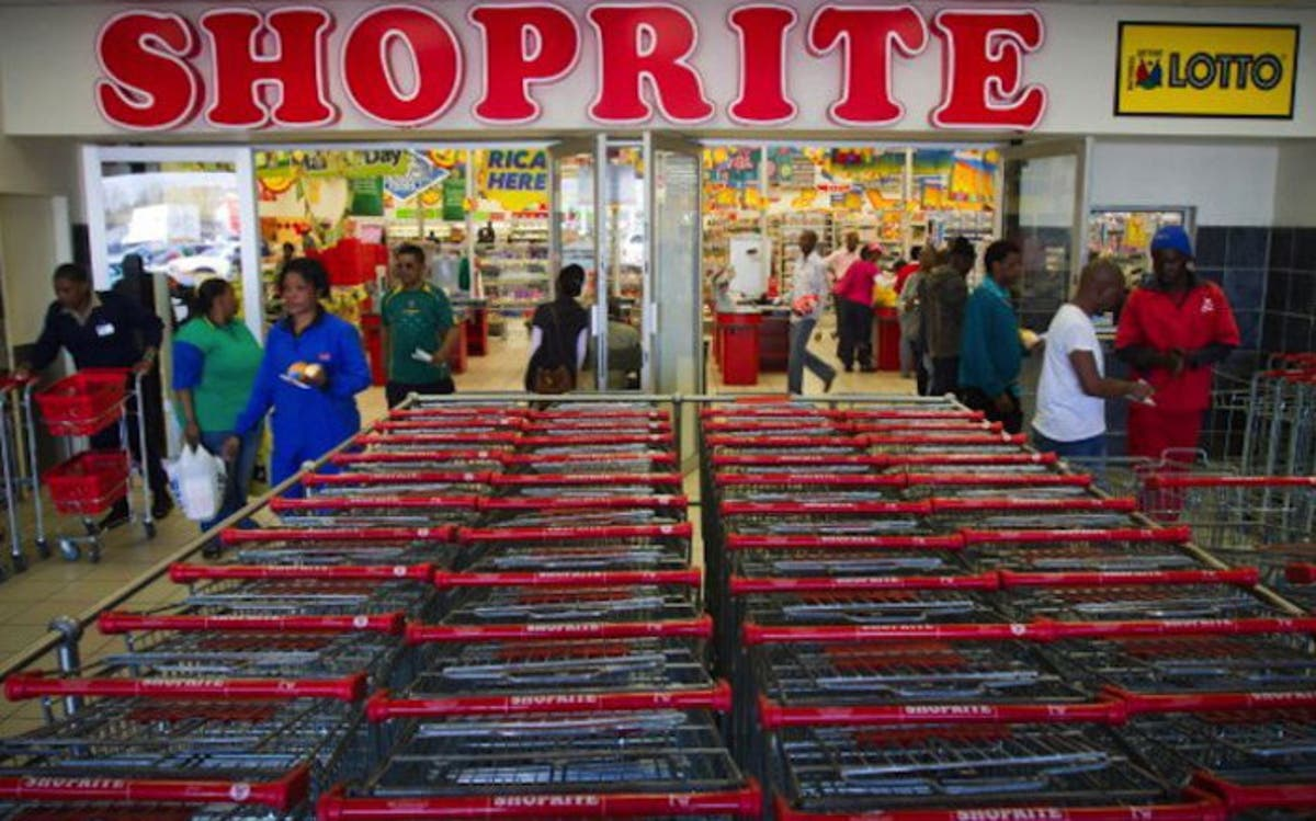 Several Shoprite stores in South Africa, Nigeria and Zambia
