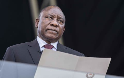 What is the head of south africas national government called