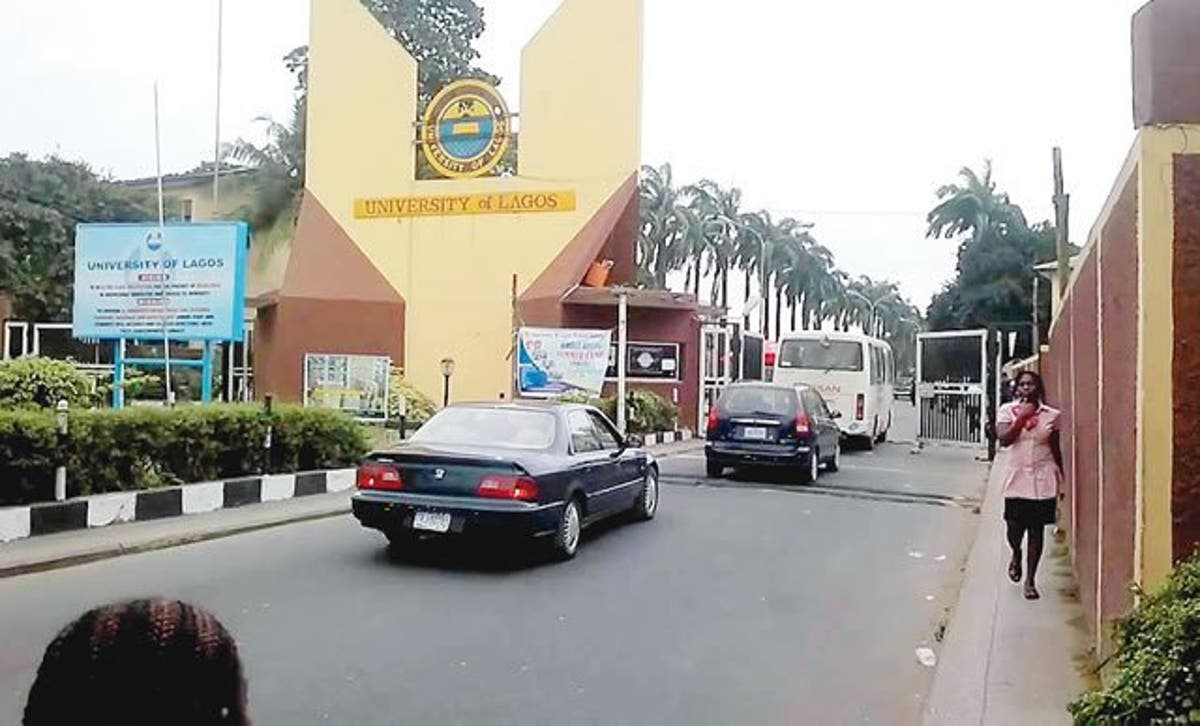 Main Entrance, UNILAG. Photo: Punch