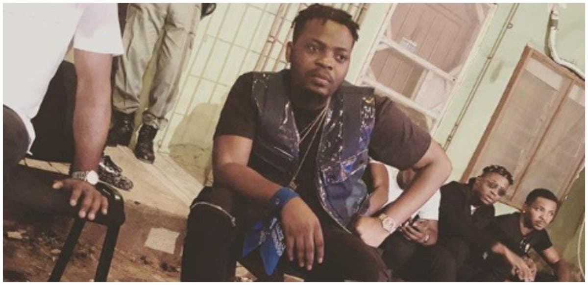Olamide blasts Instagram followers soliciting gay
