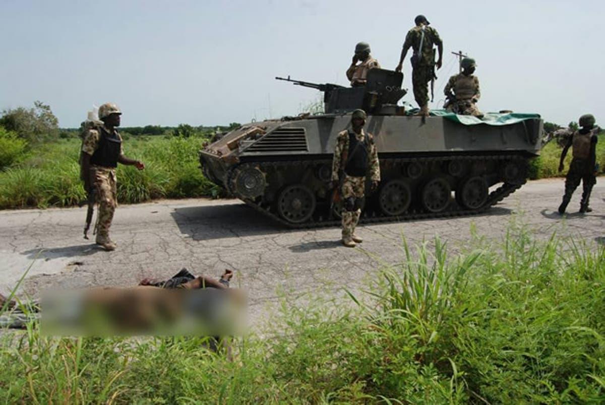 Image result for Soldiers ambush Boko Haram fighters, kill two in Borno