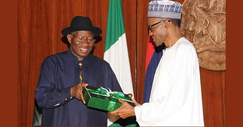 GEJ at 61: Your life's an inspiration to every young Nigerian - Buhari
