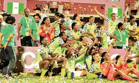 Super Falcons are nine -time African champions