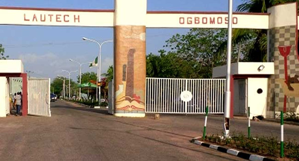 Main Entrance, LAUTECH. Photo: Punch