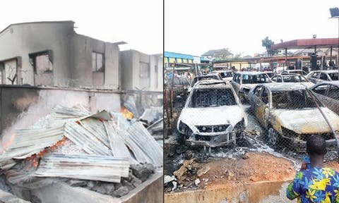 63 vehicles, 98 shops burnt in Lagos pipeline fire