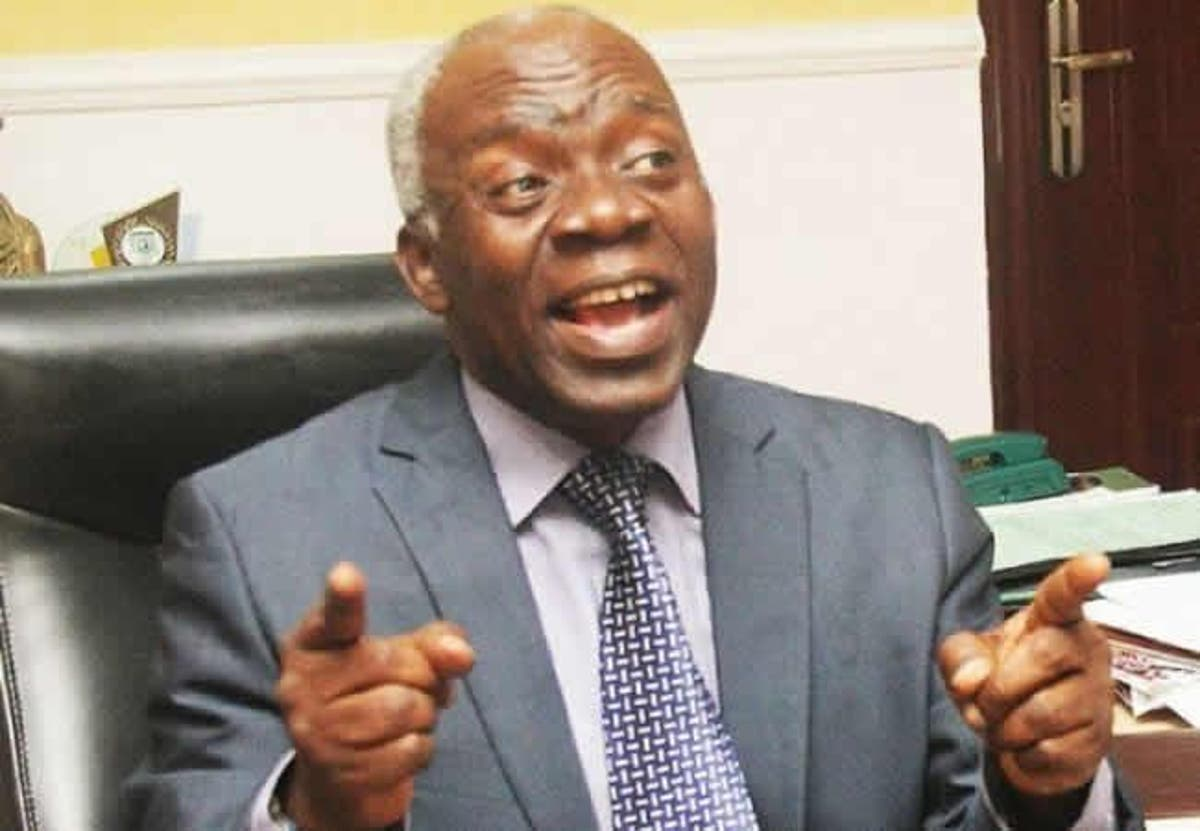 Image result for Arraign godfathers who sabotaged party primaries, Falana tells INEC, police