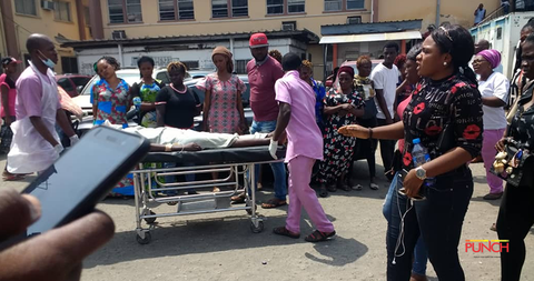 Collapsed school building: Donate blood for victims —Red Cross