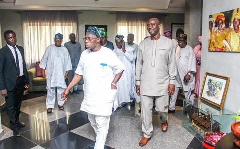 Atiku, Makinde in closed-door meeting with Obasanjo