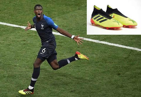Pogba's World Cup-winning boots sell for €30,000