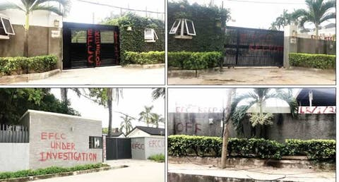 EFCC seizes Saraki's houses, marks others in Lagos