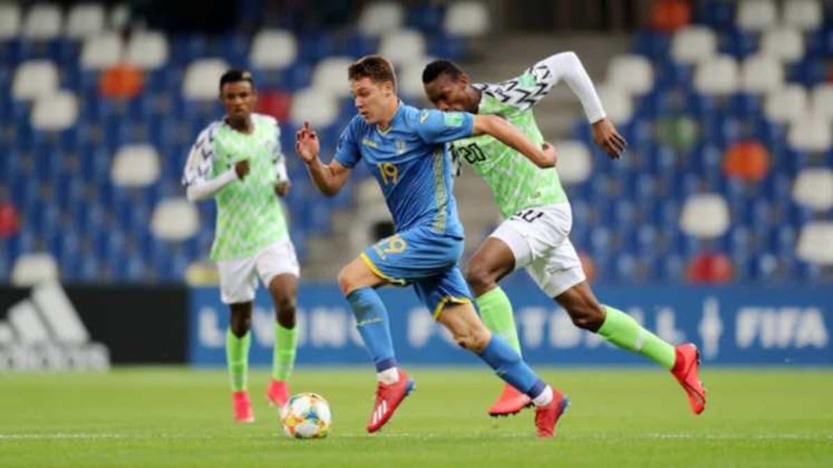 Image result for BREAKING: U-20 World Cup: Nigeria draw Ukraine 1-1