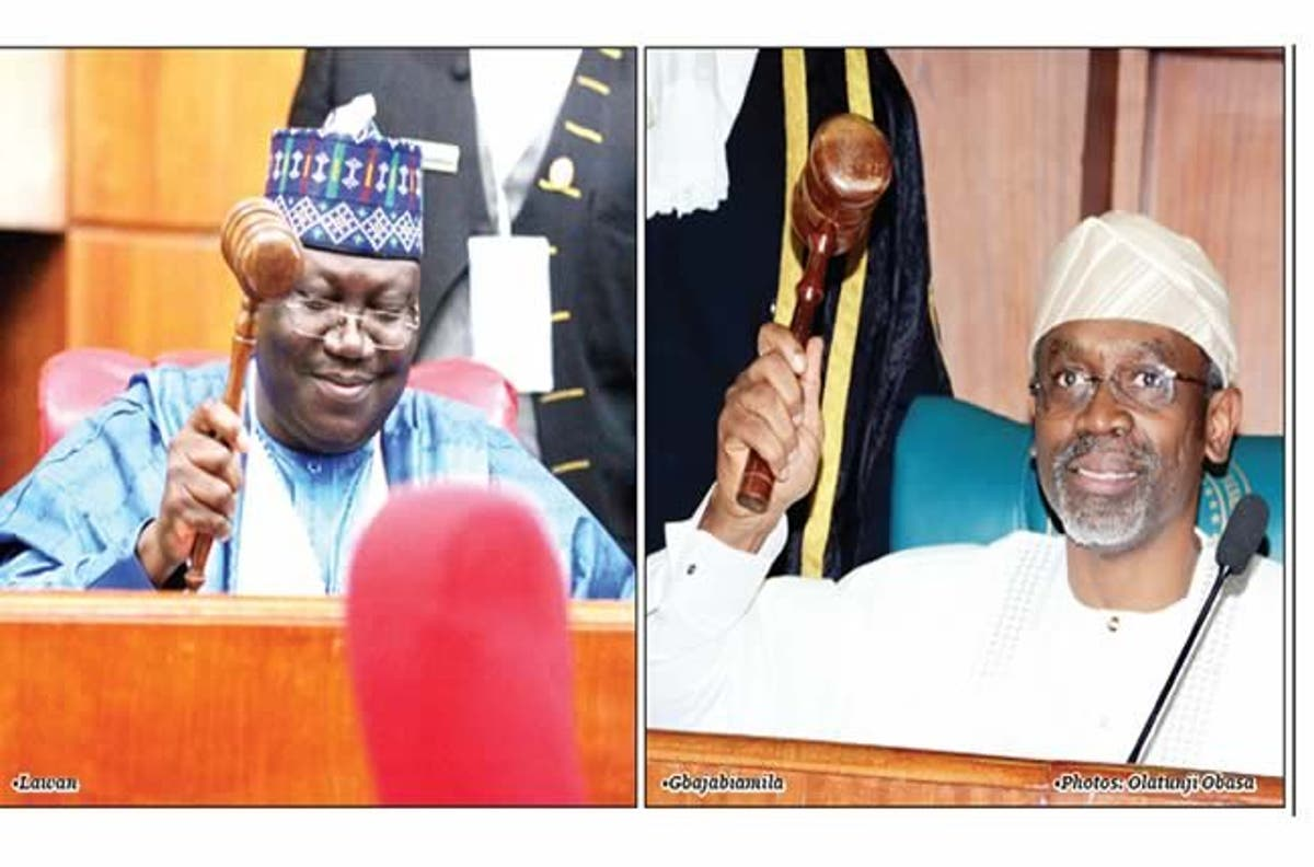 Image result for images of Gbajabiamila and Lawan