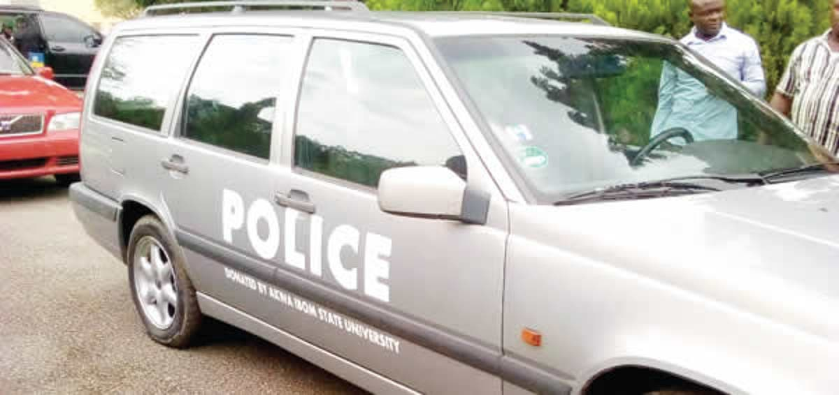 Police Surveillance Vehicle. Photo: Punch Newspapers
