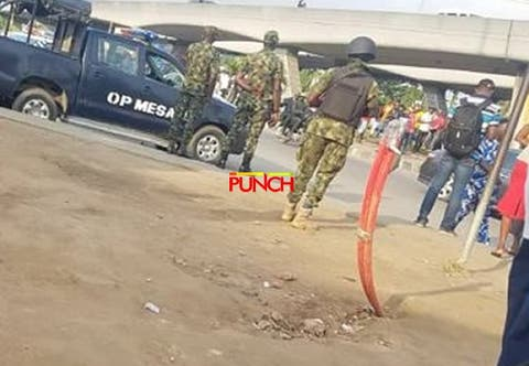 [BREAKING] RevolutionNow protest: Security agents surround National Stadium