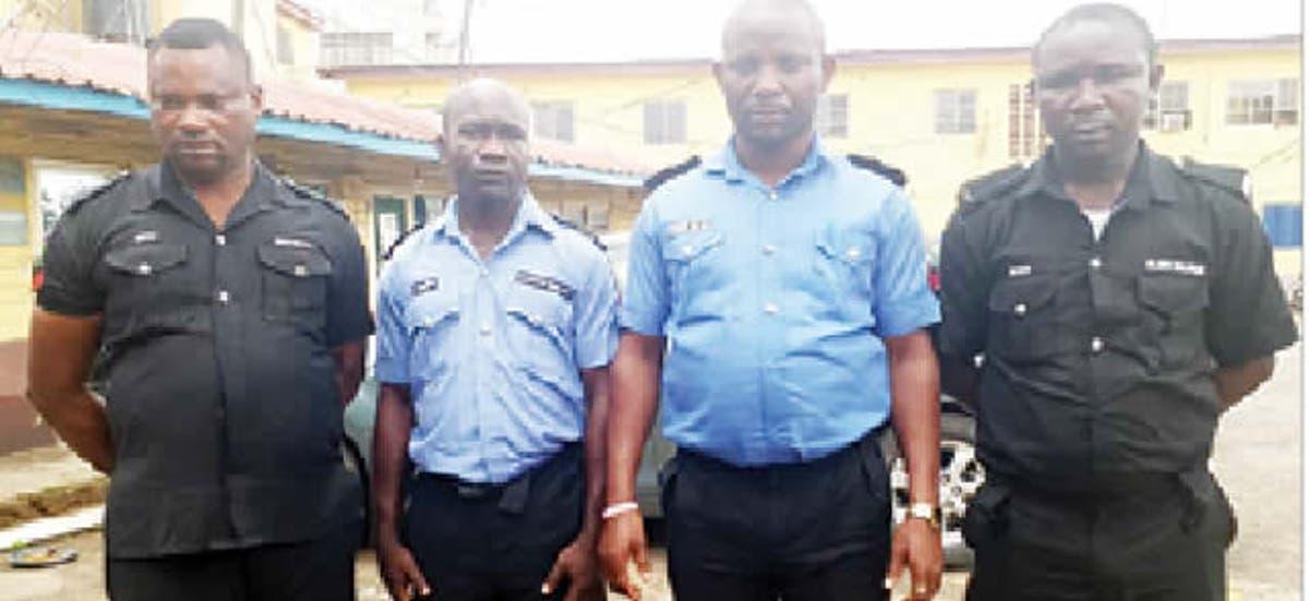 Image result for Four Killer Policemen Dismissed, Remanded In Prison
