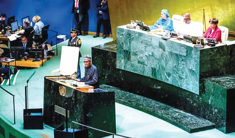 $9.6bn judgment: P&ID case, a scam, says Buhari at UN