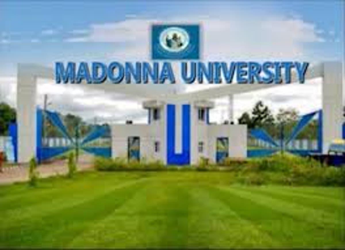 Main Entrance, Madonna University Nigeria. Photo: Legit.ng